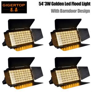 lampada 4pcs Teatro par 54 led 200w luce di inondazione luce par barndoor bianco caldo bianco freddo par 64 led