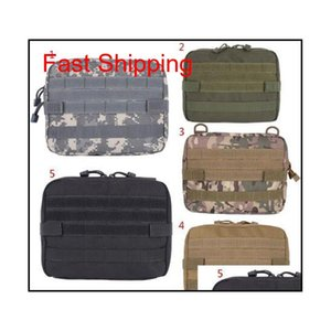 5 Colors Outdoor Military Molle Admin Pouch Tactical Pouch Multi Medical Kit Bag Utility Pouch Outdoor Camping Hunting Bag Cca10374 Lczdl