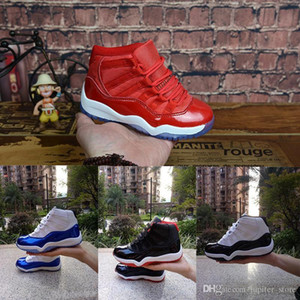 Wholesale 11 Prom Night Gym Red Midnight Navy Black Stingray Bred Concord Space Jam Shoes 11s Mens Womens Kids Basketball Sneaker