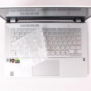 per Asus ROG Zephyrus G14 GA401 GA401ii GA401iv GA401iu 14 pollici notebook da gioco ad alta radura TPU della tastiera copertura della pelle Protector