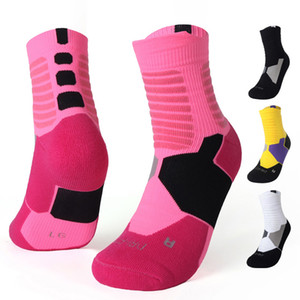 New Designer elite socks mens womens basketball socks for men professional towel bottom breathable training sports socks high quality
