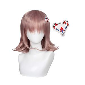 Anime Super Danganronpa Nanami ChiaKi Cosplay Wig Synthetic Heat Resistant Hair