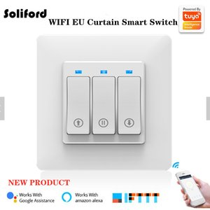 EU Curtain Wall Switch Electric Curtain Switch Cross-Border WiFi Switch Smart Curtain Home