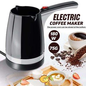 Becornce 1000W Coffee Pot Elétrica turco Chá turco Estilo de Alta Capacidade rápida de calor Fazendo Household Escritório
