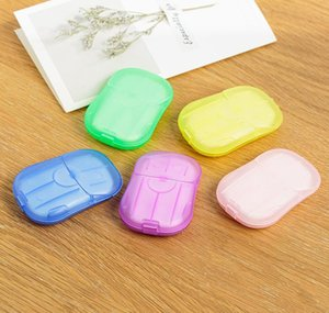 Flakes Scented Sheets Slice Slice Washing Cleaning Disposable Flakes Travel Soaps Portable Mini Bath Paper Soap Hand Soap Cca12010 bbyyo