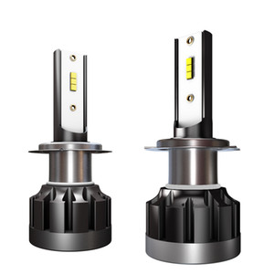 H11 LED Car Headlight Bulbs H7 H4 H8 H9 9005 9006 H1 LED Automobile Headlamp Fog Light 40W 4000LM Super Bright CSP Chip With Box