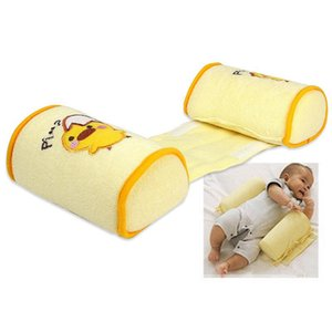Comfortable Cotton Anti Roll Pillows Lovely Baby Toddler Safe Cartoon Sleep Head Positioner Anti-rollover for Baby Bed