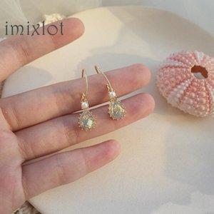 New Arrival Crystal Trendy Women Dangle Earrings Retro Crystal Eardrop For Women Drops Earrings Bohemian
