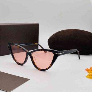 740 nuove signore di stile occhiali da sole di tendenza della moda retrò stile anti-UV cat lente piatto occhio telaio full frame di alta qualità gratis con packag