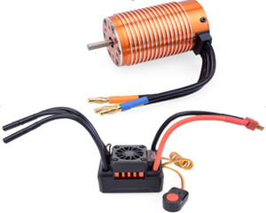 ZD Racing 1:8 remote control model car waterproof 120a brushless ESC and 4074 motor set