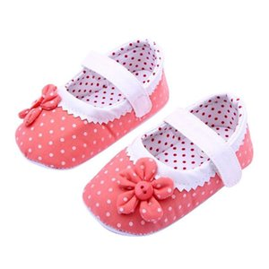 ARLONEET Baby Shoes Girl Boy Soft Colorful Flower Baby Shoes Soft Sole Toddler PU Leather kids 2020 Flower Crib