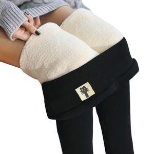 CHRLEISURE Patchwork Velvet Leggings Women High Waist Thick Pencil Pants Skinny Stretch Workout Fitness Leggings Plus Size 201103