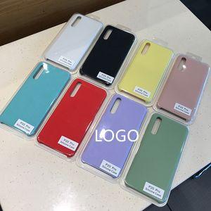 100% Original-Liquid Silicone Handy Fall für Huawei P40 P20 P30-Mate 20 30 10 Pro Lite Honor 20 Fälle P Smart-Offizielle