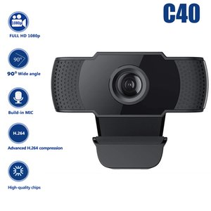 C40 C06 HD 1080P pixel computer webcam, auto focus with microphone (for Windows Win7 8 10 Vista Android TV)