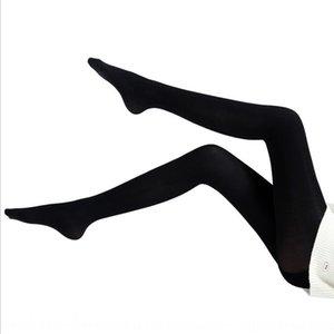 calcetines de presión de piernas largas 200D Pantyhose de las nuevas mujeres de primavera y otoño calcetines 600m micro presión cintura elástica sm7k6 pantimedias