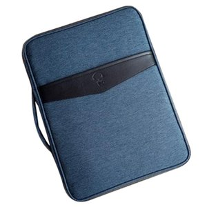 FGGS-Business multifuncional A4 documento Bags portátil impermeável Oxford Cloth Apresentação de produtos saco de armazenamento para notebooks Pens