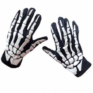gJUgt Terrifying Skelett Handschuhe Geisterklaue Partei lustig Prop und Geschenkhandschuh Performance Halloween Tod prop Geschenk 2gyNa