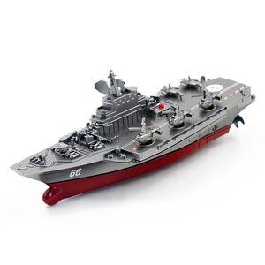 Eboyu (TM) Shen Qi WEI 3318 / 33192.4 GHz 3CH Remote Control Carrier Boot / Escort Fregatte Boot Exquisite Modell RC Boot 201204