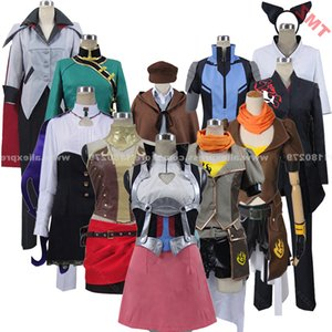 Anime Ruby Adam Nora Blake Neopolitan Neptune Emerald Group of Characters Clothing Clothes Cosplay Costume,Customized Accepted