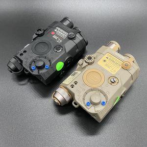 الادسنس التكتيكية مصباح يدوي PEQ ليزر أخضر LA5C UHP يزر الأشعة تحت الحمراء IR LED الليزر LA5 softair PEQ التكتيكي LA5C ضوء EX419