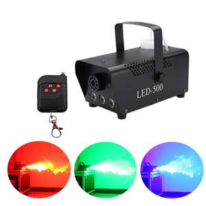 discoteca envío rápido colorido de humo Mini máquina de expulsión nebulizador remota LED DJ etapa del partido de Navidad máquina de niebla ligera