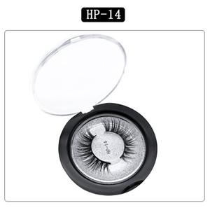HP Mink ciglia etichette private etichette magnetiche magnetiche fatte a mano fluffy 3 d visone ciglia confezione scatola di imballaggio visone 20 paia spedizione gratuita FedEx IP spedizione