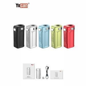 NEW 100 % 오리지널 정통 YOCAN UNI S 배터리 400mAh 5 색 배터리 박스 vape 조절 조리개 기화기를 MOD