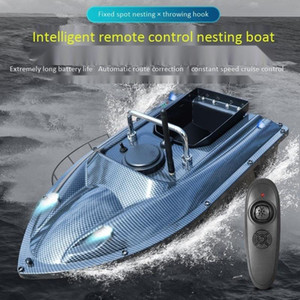 Fishing Lure Bait Boat RC Boat 500m Telecomando Telecomando Alimentatore Pesca Finder Finder Nidificazione Speed ​​Velocità Cruise Correction Ship