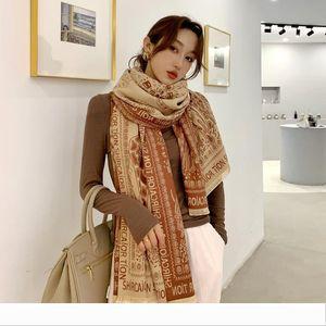 Designer 2020 ufficio Inverno donne sciarpa sciarpa di cachemire nuova di alta qualità calda Foulard Lady climatizzata Sciarpe molli spessi Sha
