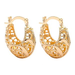 Tropfen-Ohrring-Legierungs-Höhle Frauen durchbohrte Exaggeration baumeln Ohrringe Lange Big Aussage Ohrring