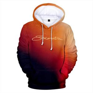 Senorita Camila Cabello amp; Shawn mendes 3D Harajuku Sweatshirt 2020 Yeni Kadın erkek Çocuklar Veli çocuk hoodies kazak hoodies