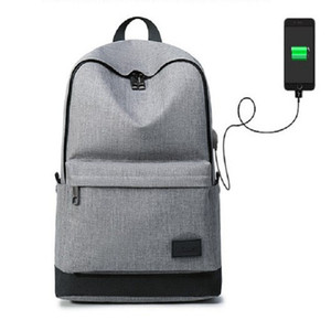 men backpacks oxford work office laptop packs man male female ladies lady women usb charging big large capacity satchel book rucksacks bags