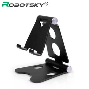 Porta cellulare regolabile universale Robotsky per il desktop del supporto del banco del tablet della tavoletta del tablet del tablet del supporto del telefono della lega di Huawei