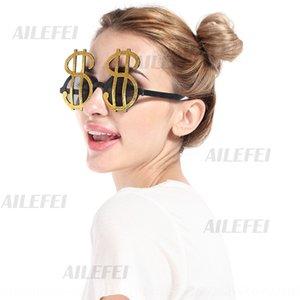 símbolo 0sTTG suministros divertidos hacen pasar fotos símbolo del partido Dólar mascarada fuentes del partido gafas de cristales divertido fotos Dollar 9T8mq