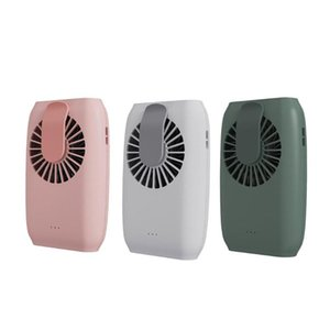 Portable Fan Lazy Fan Hanging Waist Usb Charging Mini Hanging Neck Multifunctional Strong Wind Core