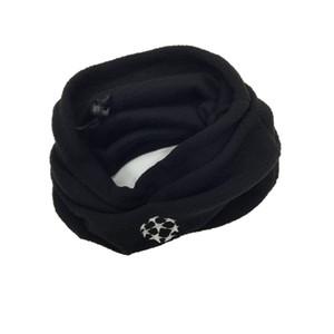 5 Unisex Dual-Use Football NeckerChief Soccer Bufanda deportiva al aire libre a prueba de viento Fleece multifuncional Sombrero caliente QT039