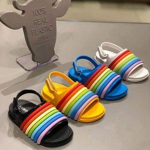 Mini Melissa Plaj Sandalet Kız erkek Sandalet Çocuk Sandalet Hayvan Mini Melissa Çocuk Ayakkabıları Güzel Melissa Sandal Bebek