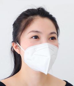 máscaras transporte livre KN95 máscara com válvula de respiração fabricante local poeira e neblina 5-camada de máscara protectora com válvula