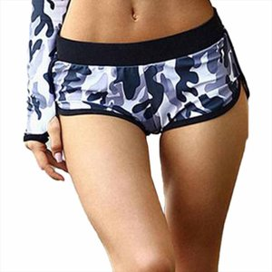 2019 Korean Street Style New Fashionable Running Gym Fitness Sport Low Waist Shorts Summer Hot Sale Breathable Camouflage Shorts