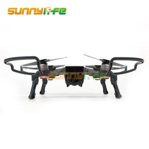 Combo de protection Jambes étendues Gardes Hélice + folding trains d'atterrissage pour DJI SPARK Caméra Drone Accessoires Prop Protector