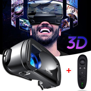 Pro 3D VR Glasses Virtual Reality Full Screen Visual Wide-Angle VR Glasses For 5 to 7 inch Smartphone Eyeglasses Devices