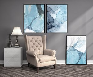 Melt Modern Wall Art Painting Canvas Poster and Print Art Picture for Living Room