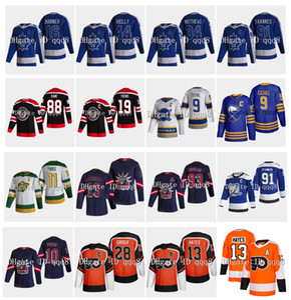 Retro retro sable Jack Eichel Jersey Filadelfia Flyers Kevin Hayes Jonathan Toews Claude Giroux Steven Stamkos Patrick Kane Hockey