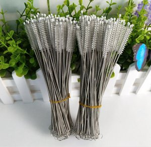 304 Stainless Steel Feeding Bottle Cleaners Wire Cleaning Brushes Drinking Straws Cleaning Brush Drinking Pipe Cleaning Brush for Cups Glass