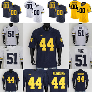 Michigan Football Jersey 5 Joe Milton Zach Charbonnet Kwity Paye Daxton Hill Cameron McGrone Nico Collins Charles Woodson Desmond Howard