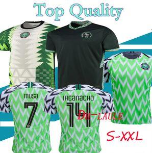 16-XXXL 2018 2019 2020 Nigeria Accueil maillot de football 18 19 20 21 de pied Okechukwu maillot OKOCHA AHMED MUSA MIKEL Iheanacho Nigeria football chemises