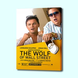 Wolf of Wall Street Poster Print Wall Art Canvas Painting Picture Living Room Bedroom Dining Room Hanging Painting
