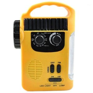 Cell Phone Charger Radio, Led Radio, Led Lantern Siren, Rechargeable Batteries, Hand Crank, Solar Power Radio1