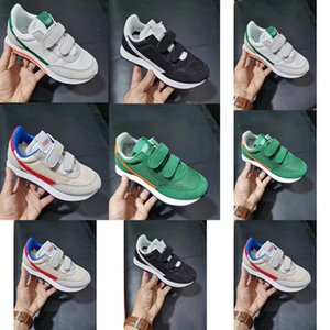 Top Infant Internationalist Waffle Racer Kids Running Sneakers shoes chaussure de sport pour enfant boys girls Casual Trainers