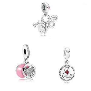 2019 High Quality Fashion High-end Pink Love I Love You Letter Pendant Charm Diy Original Female Jewelry Gift1